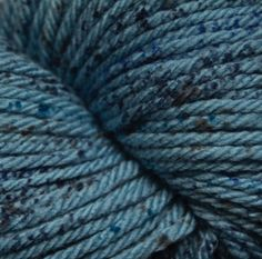 220 Superwash Aran Splatter - Tempest