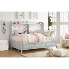 One Allium Way Raab Daybed with Storage