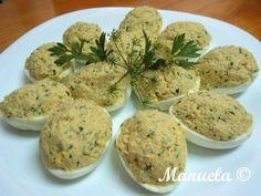 Receitas práticas de culinária: Ovos Recheados