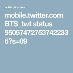 mobile.twitter.com BTS_twt status 950574727537422336?s=09