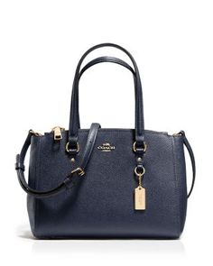 COACH Stanton Carryall 26 in Crossgrain Leather | Bloomingdale's