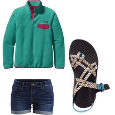 Untitled #3 by jessie35124 on Polyvore featuring polyvore, fashion, style, Patagonia, VILA and Chaco