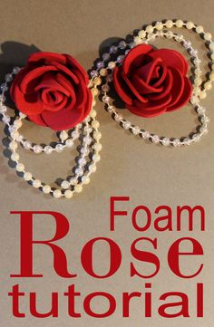 How to Make - Foam Rose - Foamiran Flower DIY Pianka Artystyczna - Róża z Foamiranu Tutorial - Kwiaty z Pianki. The perfect decoration for a greeting card, scrapbooking, hair, gift. Have fun watching and creating (*^^*) Flower Diy, Diy Flowers, Rose Tutorial, Diy Tutorial, How To Make Foam, Kissing Ball, Felt Christmas Decorations, Foam Roses, Cool Watches