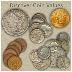wonderful site and the best part its FREE yes FREE you dont have to buy a book to find out the values of your old coins.A wonderful site and the best part its FREE yes FREE you dont have to buy a book to find out the values of your old coins. Rare Coins Worth Money, Valuable Coins, Old Coins Value, Coin Worth, American Coins, Old Money, Us Coins, Money Matters, Coin Collecting
