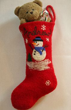 felted  pattern at www.ravelry.com by mythreesons  Flickr by joyfulpurls  Flickr by ginawyman  Flickr by QoE  Flickr by ginawyman  Flickr Felted Christmas Stocking  by Katie Nagorney and Ann Swanson