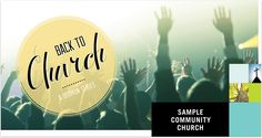 Back To Church Mailer by d2design