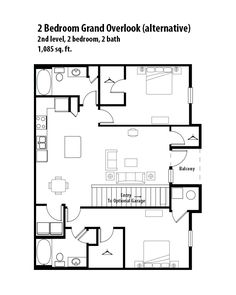 2 bedroom 1 bath floor plan of property eitel building for Jordan built homes floor plans