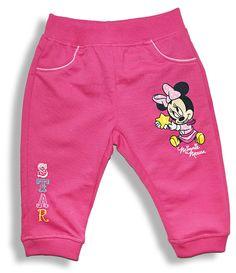 Teplákové nohavice pre bábätká - MINNIE MOUSE http://www.milinko-oblecenie.sk/kojenecky-spodny-diel-3/strana-2/