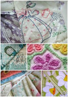 Vintage Fabric – Reclaiming & Cleaning