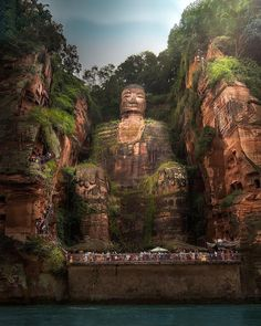The Leshan Giant Buddha 🤩 Sichuan, China. – Tag your favorite travel friend 😍😍 ⠀ -⠀ 📸 Great photo by… – Summer Vacation Trips, Vacation Spots, Vacations, Wonderful Places, Beautiful Places, Giant Buddha, Sichuan China, Luxury Boat, Image Nature