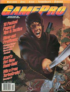 Looking for information on GamePro Issue 3 from September-Octpber Read more about this magazine at Retromags! Video Game Magazines, Gaming Magazines, Nintendo Sega, Classic Video Games, School Games, Going Crazy, September, Books, Retro Games