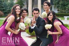 Cute wedding photo!
