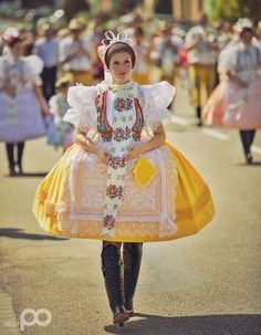 One from many Moravian folk costumes, Czechia