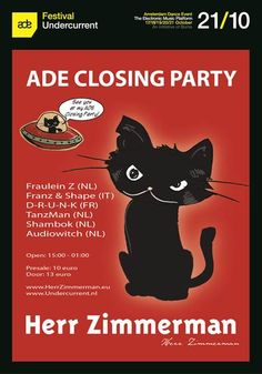Oct 21 Herr Zimmerman gonna close ADE in style!