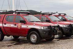 Viaturas e equipamentos reforçam o trabalho dos Bombeiros da Baixada Santista e Vale do Ribeira