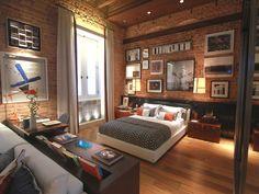 Sem perder espaço: três dicas para decorar um loft - Dicas - Casa GNT