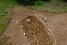 Giant Skeleton of GHATOTHKACH - Archeology