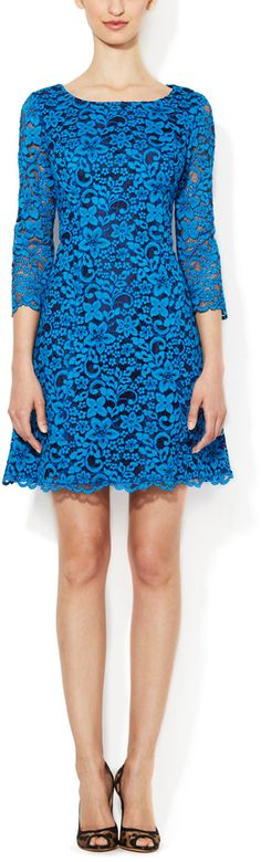 Shoshanna Miranda Lace Shift Dress on shopstyle.com