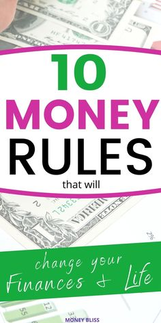 Do you know the personal finance rules? Most people are struggling with budgeting finances lessons. Read this money management post from Money Bliss on money rules you must follow to achieve success with money. Learn to get out of debt, save money fast, enjoy frugal living, and reach financial freedom. Click this URL to learn ways to improve your financial planning for beginners! | Money Bliss @money_bliss How To Be Rich, How To Become, Investing Money, Saving Money, Love Rules, Accounting And Finance, Become A Millionaire, Achieve Success, Money Fast