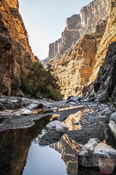 Oman photos - Grand canyon - Jebel Shams