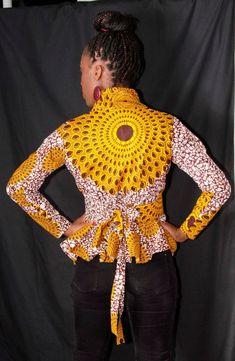 Um blazer super original e versátil!   Gostavas de ter um? Contacta o Atelier MariaGabi! Fazemos orçamentos gratuitos