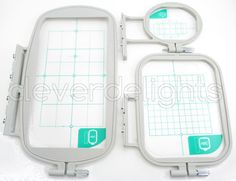 3-Piece Embroidery Hoop Set for Brother Machines - SE400, SE425, PE-400D, Innov-is 900d & Other Machines - sa431 sa432 sa434 Replacement Set on Etsy, $54.99