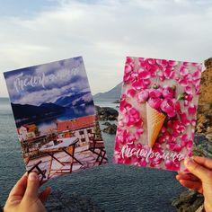В мобильном приложении ТЧК так много красивых открыток, что сложно остановить свой выбор на какой-то одной! А какая из этих двух нравится вам больше всего? 😉 #тчк #telegrafru #телеграф #телеграмма #мобильноеприложениетчк #мобильнаятелеграмматчк #открытка #сюрприз #подарок #праздник #поздравление #море #солнце #отдых #отпуск #жара #красота #закат #природа #пляж #путешествие #горы #волны #вечер #красиво #каникулы