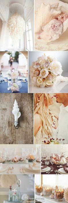 SeaShell Themed wedding