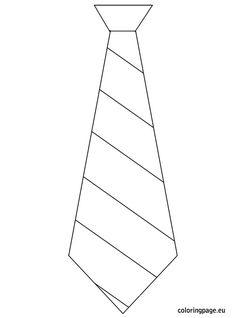 tie template printable
