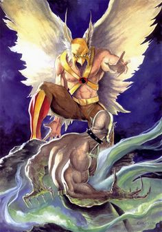 Hawkman by humblestudent