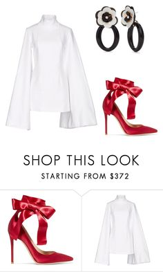 """End"" by didiiidia on Polyvore featuring Gianvito Rossi, Jacquemus and Kate Spade"