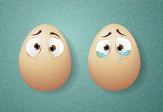 Create Comic Egg Characters Using the Blend Tool in Illustrator