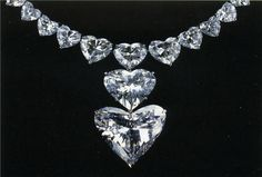 Grand Coeur d' Afrique It was found in Guinea in 1982. The rough was fashioned in New York by Laurence Graff of London in 3 stones: the smaller stones were a 14.25 carats marquise and a 25.22 carats heart shape, Le Petit Coeur. The Grand Coeur d'Afrique was sold by Graff Diamonds in London in 1983. Its clarity is internally flawless.