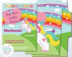 Little Pony Party Invitation