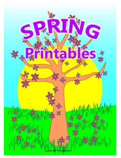 Printable Spring Activity Sheets and Paper Crafts Spring Activities, Craft Activities, Unique Party Favors, Borders For Paper, Activity Sheets, Coloring Sheets, Bookmarks, Greeting Cards, Paper Crafts