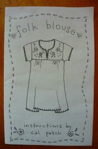 folk blouse by Cal Patch