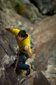 Thumbs up from Alex Honnold