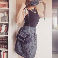 Rachel sur Instagram: Qui a dit qu on ne pouvait rien faire avec un mètre de coton ? Une nouvelle jupe #chardon de #deeranddoe ... Pour suivre avce ce top…