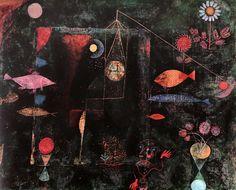 Paul Klee (Swiss, 1879-1940)  Fish Magic 1925