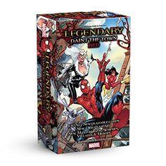 ADC Blackfire Entertainment UD82054 - Legendary: Paint The Town Erweiterung - Englisch, Kartenspiel