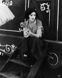 Merna Kennedy, in Charlie Chaplin movie, the circus