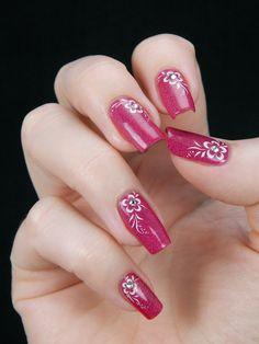 Crystal Rhinestone, Rhinestones, Cherry, Lipstick, Nail Art, Crystals, Nails, Beauty, Gel Nail
