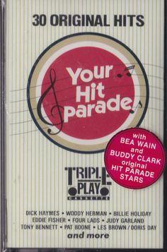 Your Hit Parade Classics Cassette/ MIB/ PT 17378/ Triple Play/ 1983 #BigBandSwing