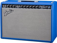 Limited Edition... very nice. Fender Vintage Reissue 65 Deluxe Reverb Electric Blue 22W 1x12 Tube Guitar Combo Amp