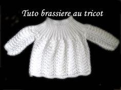 tuto brassiere bébé tricot, brassière point vague au tricot, brassiere pour bébé au tricot, tuto brassiere tricot, brassiere tricot,