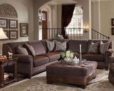 Awesome Brown Sectional Living Room With Regard To Fantasy Check More At  Http://