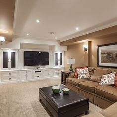 Basement Design Ideas, Pictures, Remodel, and Decor - page 3