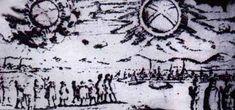 Sfere albastre, negre şi roşii, cât şi discuri şi cruci roşii de culoare sângelui au ieşit brusc din nişte cilindre imense negre, începând să se bată pe cerul Nusembergului. Unele dintre aceste sfere s-au prăbuşit Citește mai mult →