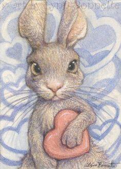"""Art by Lynn Bonnette: """"Let Me Love You"""""""