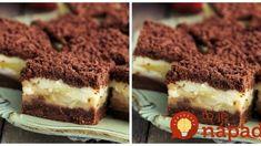 Výborný koláčik, vždy, keď sú jablká, musí byť na stole. Sweet Desserts, Sweet Recipes, Tiramisu, Food And Drink, Keto, Sweets, Ethnic Recipes, Cakes, Hampers